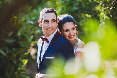 """גיא וג'ניה מצטלמים לפני החתונה שלהם שנערכה ב- """"לוקא"""""""