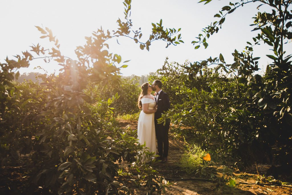 טבע עם זוג לקראת החתונה