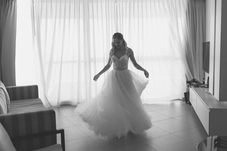התארגנות לחתונה במלון רדמה בנתניה