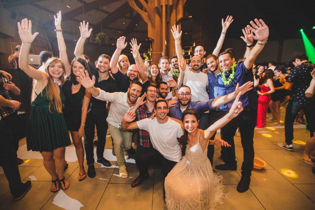 מגנטים לחתונה בחתונה באולם לוקא במשמר השרון