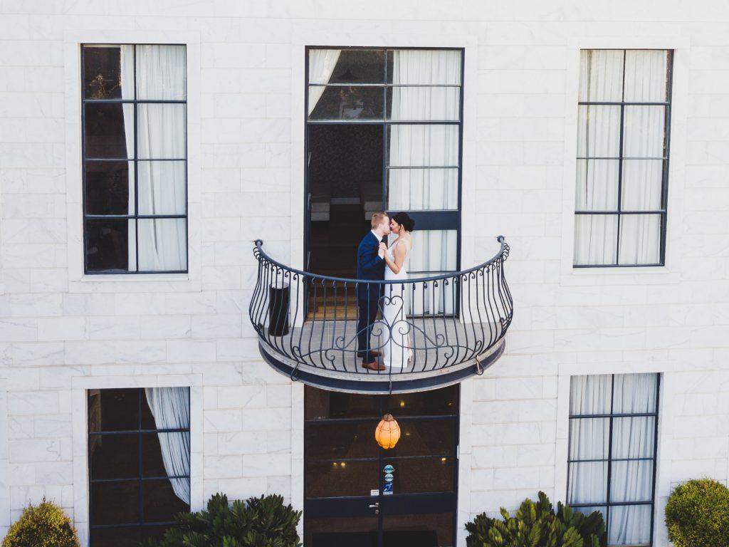 חתונת חורף עם הרחפן