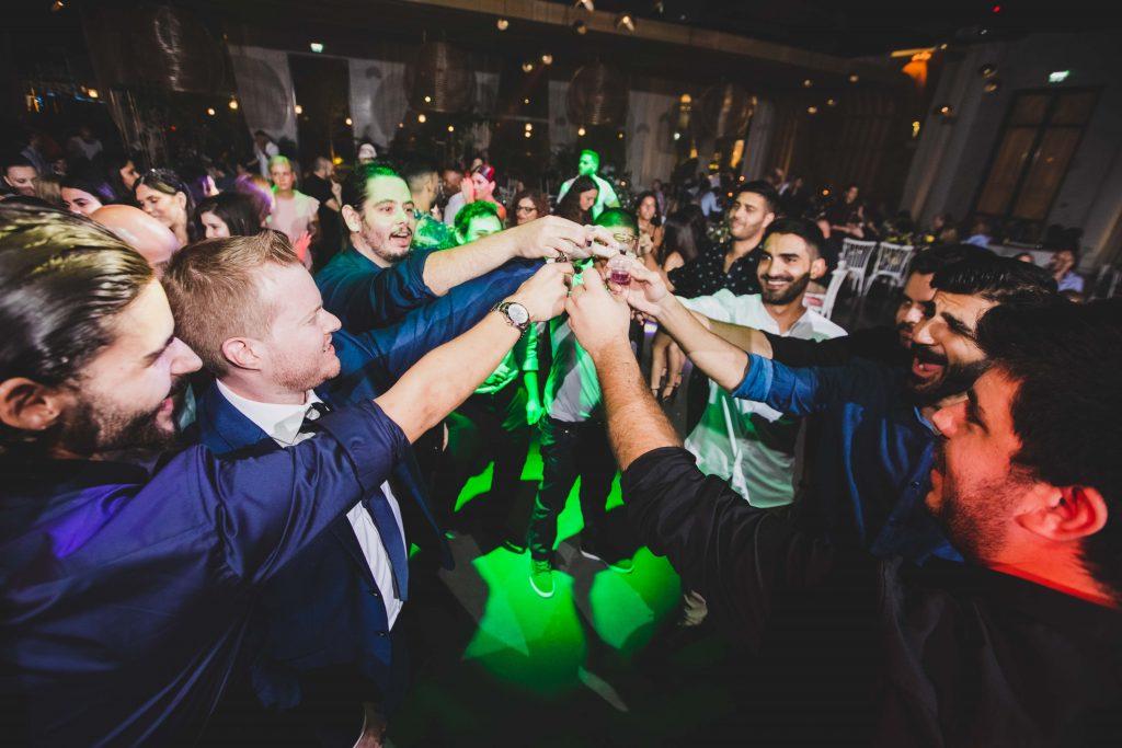 מגנטים לחתונה ברחבת הריקודים של אסף ודניאל באולם אודאון