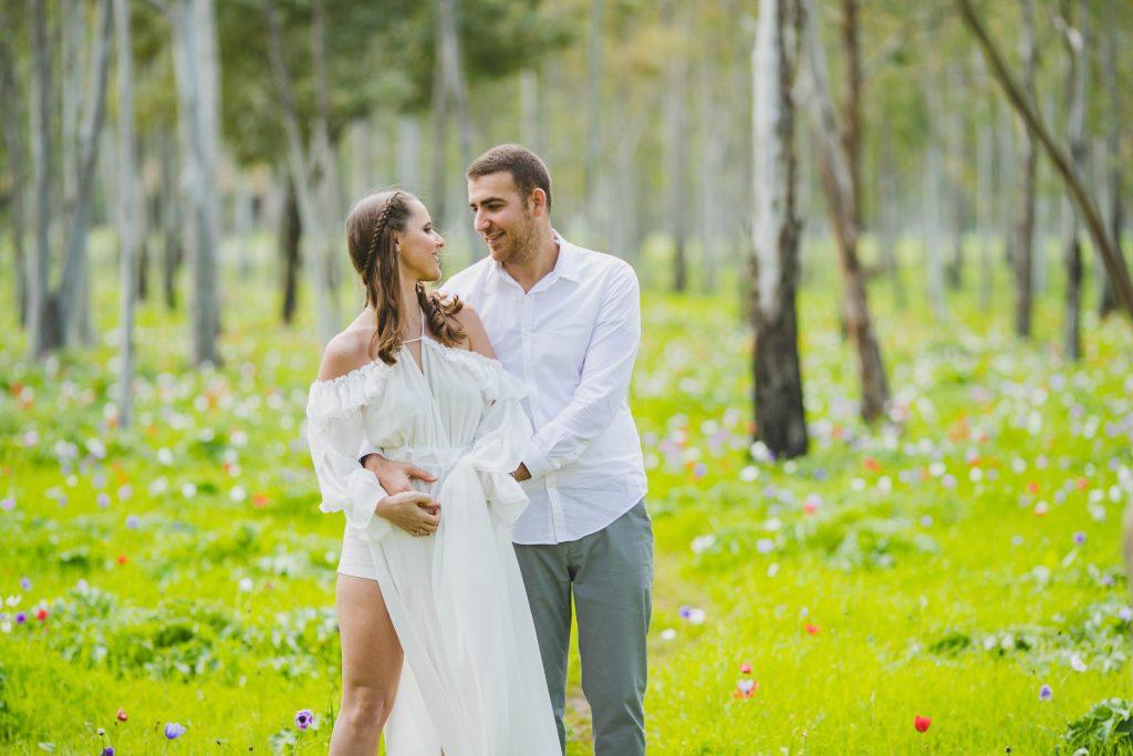 צילום חתונות בצפון מור ובן זוגה בצילומים מהסרטים