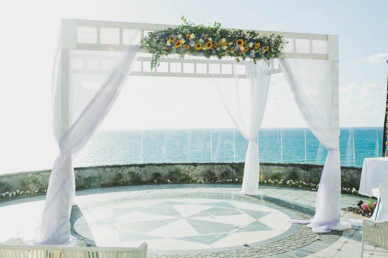 חופה על חתונה על הים באולם אירועים 591 שבנתניה