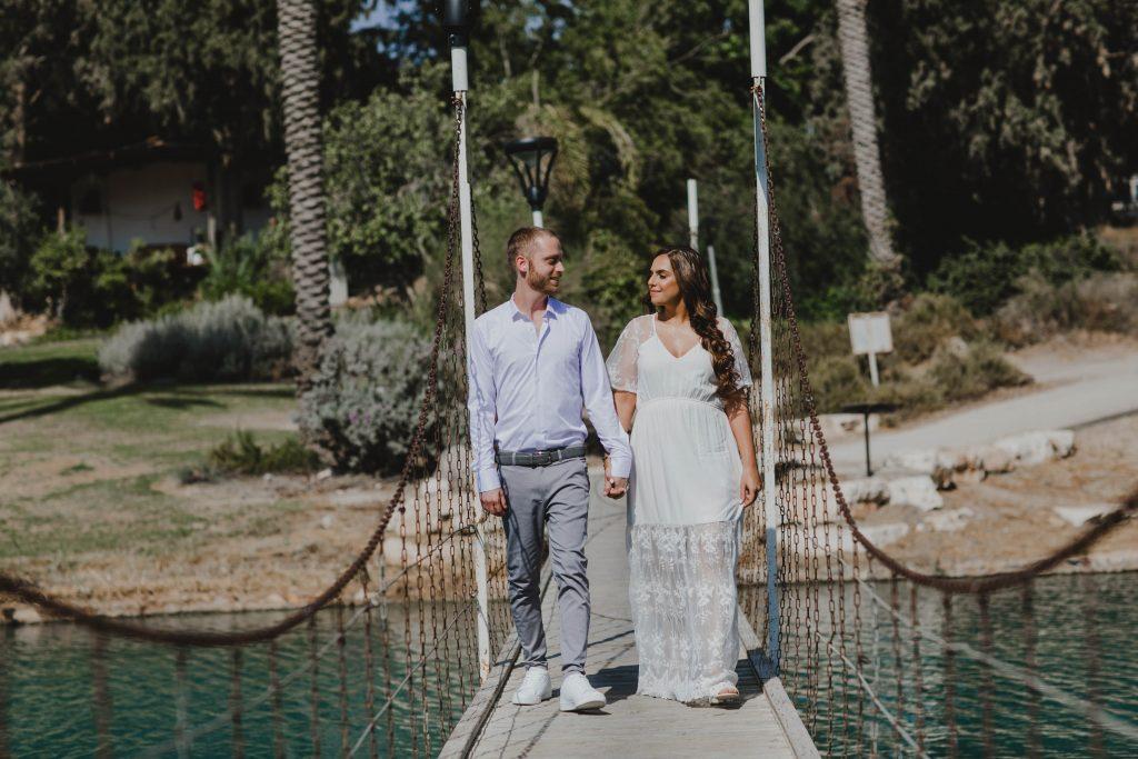 צילום חתונות בצפון לירז וג'ניה בקיבוץ ניר דויד